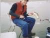 Ice Fishing on Water